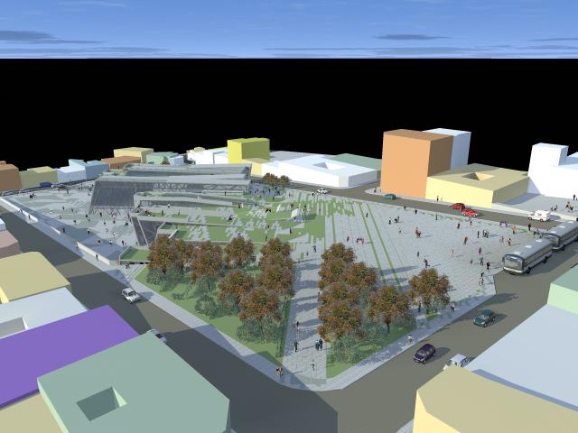 Proyecto de grado contenedor cultural san pedro gelfo for Grado en arquitectura